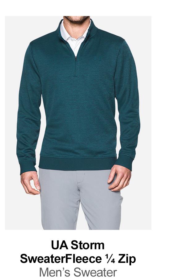 UA Storm SweaterFleece 1/4 Zip - Men's Sweater