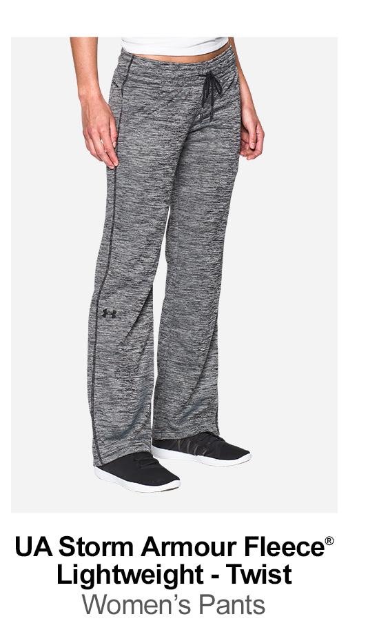 UA Storm Armour Fleece® Lightweight - Twist - Women's Pants