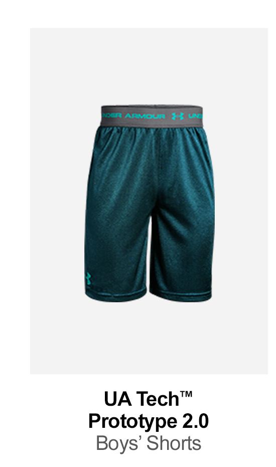 UA Tech™ Prototype 2.0 - Boys' Shorts